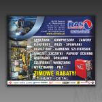 Projekt modułu reklamowego do gazety dla firmy RAF-MIX RAFAŁ GÓRSKI