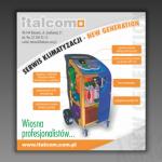 Projekt modułu reklamowego do gazety dla firmy ITALCOM