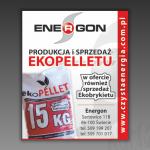 Projekt modułu reklamowego do gazety dla firmy ENERGON