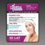 Projekt modułu reklamowego do gazety dla firmy LINDA