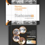 Projekt i wydruk koperty CD dla firmy ITALCOM