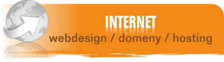 Internet - webdesign, domeny, hosting