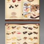 Projekt i wykonanie foldera dla CUKIERNI F&F