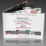 Skład i przygotowanie do druku broszury Fathers' Village