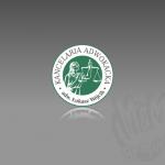 Projekt logo dla firmy KANCELARIA ADWOKACKA adw. ŁUKASZ WÓJCIK