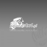 Projekt logo dla firmy PASJONACI4x4.PL