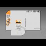 Projekt i wykonanie teczki dla firmy ITALCOM