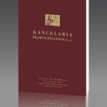 Projekt i wykonanie teczki dla KANCELARII PRAWNO-FINANSOWEJ LAASER s.c.