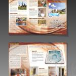 Projekt i wydruk ulotki dla firmy PERŁA