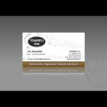 Projekt i wykonanie wizytówki dla firmy TONARELI S.C.