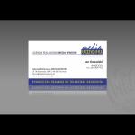 Projekt i wykonanie wizytówki dla firmy AGENCJI REKLAMOWEJ MEDIA WINDOW